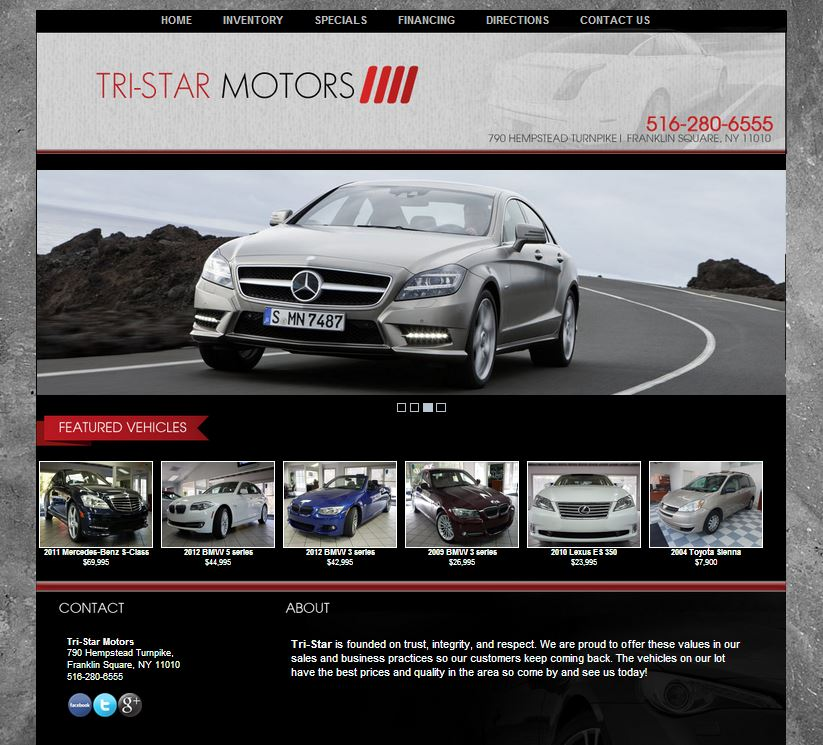 Tri Star Motors Selects To Develop Dealer