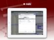 Edit Project plans on iPad