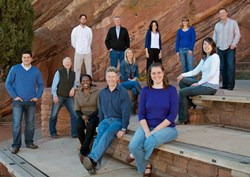TaxOps team at Red Rocks, Colo.