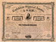 Stonewall Jackson Confederate Bond
