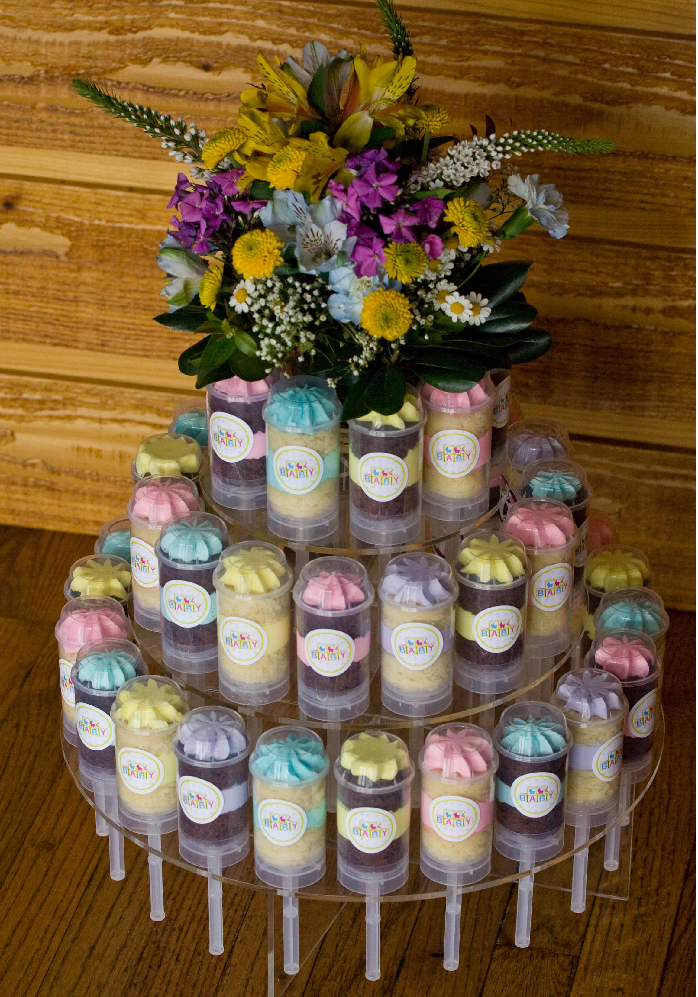 Baby Gift Edible Arrangements : Cakeslider creations? launches cupcake gift baskets for