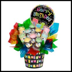 cupcakes, push up pops, cupcakes denver, edible arrangement, flower alternative, gift basket, cake, nationwide shipping