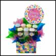 easter, cupcakes, push up pops, cakesliders, gift basket, easter basket, nationwide shipping, cupcakes denver