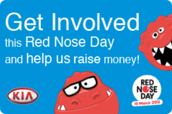 Help support Comic Relief with Hendy Kia