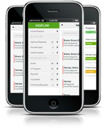 KiSSFLOW - Workflow for Google Apps - Mobile Web App