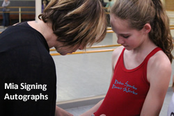 Debra Sparks Dance Works Hosts Mia Michaels for Master Class in February