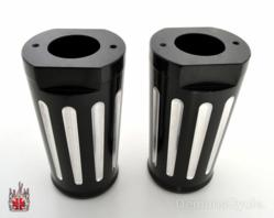 Custom Billet Fork Covers for Harley-Davidson Dressers