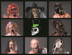 Dapper Cadaver Halloween Characters