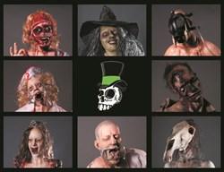 Dapper Cadaver Halloween Characters