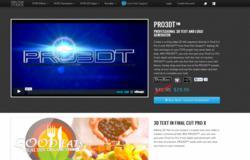 FCPX Text Plugin - Final Cut Pro X 3D Text Effects - Pixel Film Studios - PRO3DT