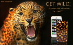 LUVVITT@ LEOPARD iPhone 5 Case