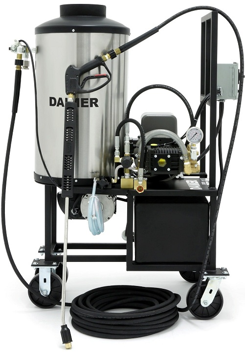Daimer Unveils Pressure Washer For Ice Dam Removal Service