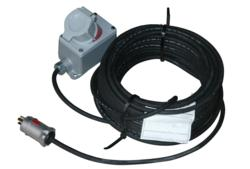 Explosion Proof Extension Cord with Twist Lock Receptacle