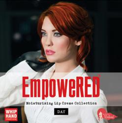 "Whip Hand Cosmetics ""How to be a Redhead"" EmpoweRED™ Daytime Lip Creme Palette"