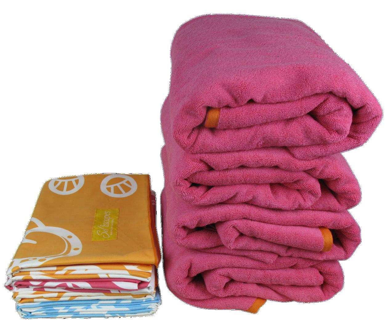 Towel Interstellar Travel: SolEscapes' Travel Lux Beach & Pool Microfiber Towels