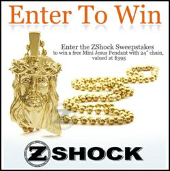 Mini Jesus Piece Sweepstakes By ZShock