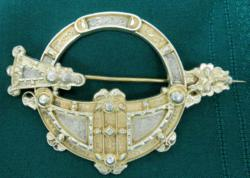 "Royal Tara Brooch ""Waterhouse & Co. Dublin"" circa 1850."
