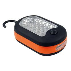 Safety Technology's 27 LED worklight is made with a panel of 24 LED lights, with another 3 LED lights on its end.