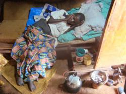 Ugandan palliative care patient