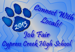Cy Creek High School Job Fair