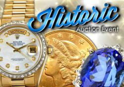 Rolex, Gold Coins and California Vineyard featured in March 9th Auction