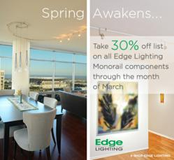 Edge Lighting Monorail Sale