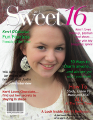 Sweet 16 Magazine Cover from YourCover