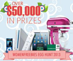 Online Easter Egg Hunt by WomanFreebies.com