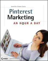 Pinterest, marketing, Sybex, Jennifer Evans Cario
