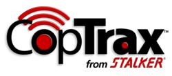 CopTrax In-Car Video System logo.