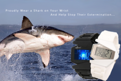 TIMESHARK wristwatch - Stop shark finning now!