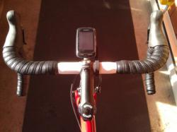 garmin edge out front bike mount, safety