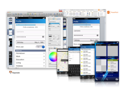 BlackBerry10Templates.com makes it easy to design full color BlackBerry 10 app mockups in PowerPoint and Keynote.