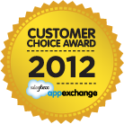 Salesforce AppExchange Customer Choice Award for Sales methodology category