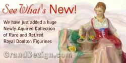 Collection of Rare and Antique Royal Doulton Figures at GrandDezign.com