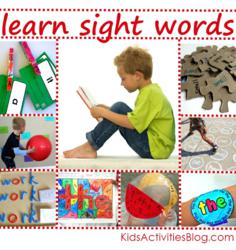 beginning words for kids