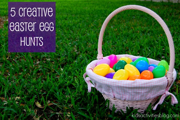 Fun Easter Egg Activities And Unique Easter Egg Hunt Ideas