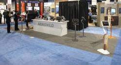 Armodilo iPad Kiosk / Tablet Display Stands at DSE2013