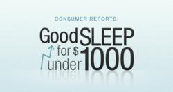 Consumer Reports 2013 Mattress Ratings Inspire BestMattress-Reviews to Offer Tips on Getting Good Sleep for Under $1000 in Latest Article