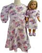 Matching Girl & Doll Lavender Dresses