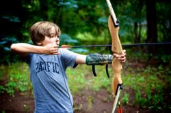 Guests enjoy archery and many other activities at southern Colorado dude ranch