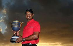 Tiger wins Cadillac