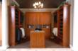 Walk-in Closet in Sienna Apple Finish