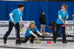Team E. Brown, the US Women's Curling Team, competes at the Women's World Curling Championships this week in Latvia