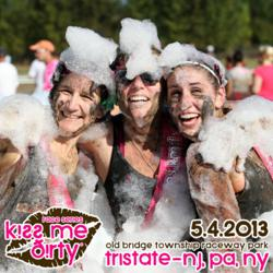 Kiss Me Dirty Mud Run Obstacle Course Event