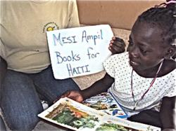 Mesi Ampil Books For Haiti