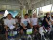 City of Fort Lauderdale Mayor Jack Seiler leading off the Spinners at the 2012 Spin-A-Thon