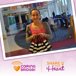 CaringBridge Share Your Heart Winner