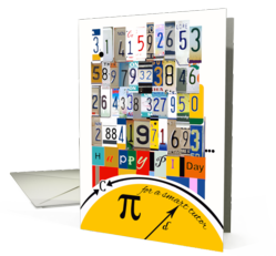 Pi Day Cards