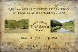 ranch auctions, farm auctions, texas land for sale